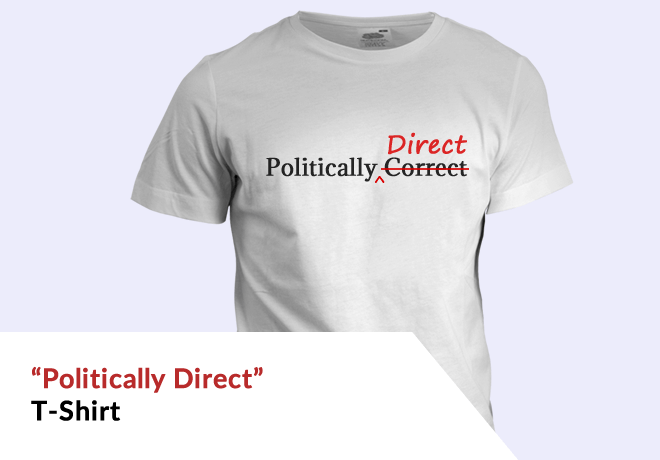 'Politically Direct' T-Shirt